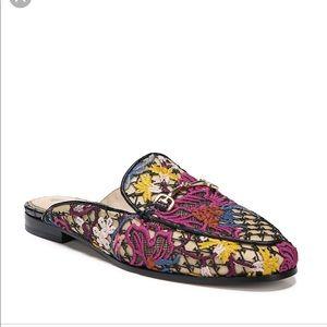 Sam Edelman Crochet Floral Linnie Flats Loafer